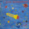 Плакат «С Днем космонавтики!» Совместное творчество педагога с детьми раннего возраста
