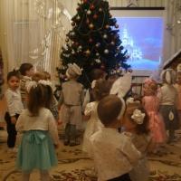 Фотоотчет «Новогодний праздник в группе раннего возраста»