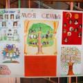 Стенгазета «Мое родовое дерево» к проекту «Моя семья» в средней группе