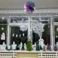 Оформление новогоднего окна
