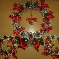 Мастер-класс по изготовлению новогоднего сувенира «Рождественский веночек»
