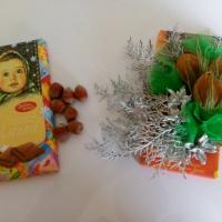 Идея для новогоднего оформления подарка
