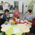 Мастер-класс для воспитателей по изготовлению пасхального сувенира из макарон