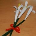 Мастер-класс «Поделка из бумаги «Лилии»