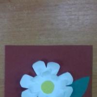 Фотоотчет «Открытки для мамы ко Дню матери во второй младшей группе»