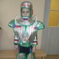 Мастер-класс по изготовлению костюма «Космонавт»