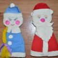 Мастер-класс по изготовлению Деда Мороза и Снегурочки своими руками