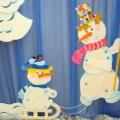«Зимняя сказка» (оформление музыкального зала к новогоднему празднику)