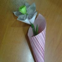 Мастер-класс «Нарцисс» в технике оригами