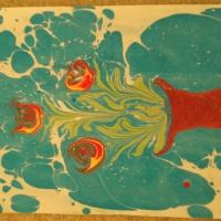 Мастер-класс «Рисование по воде»