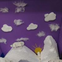Мастер-класс по изготовлению макета «Арктика» в экологический уголок