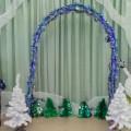 Новогоднее оформление музыкального зала