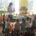Организованная образовательная деятельность во второй младшей группе. Рисование в нетрадиционной технике