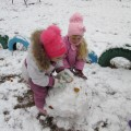 Фотоотчет «Ура! Выпал снег!»