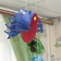 «Птички-невелички» для украшения группы (фотоотчет)