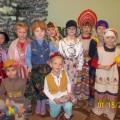 «Рождественские колядки в нашей группе». Фотоотчёт