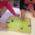 Настольная игра «Мини-футбол» своими руками