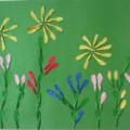 Мастер-класс по аппликации из семян ясеня с элементами нетрадиционного рисования «Летний день»