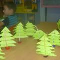«Новогодняя елочка из бумаги гармошкой». Мастер-класс