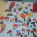 Коллективная работа детей средней группы «Белкины запасы»