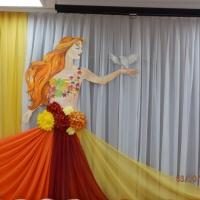 Оформление музыкального зала к празднику «Осень»