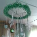 Мастер-класс по изготовлению подвесного украшения на Новый год