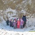 Экскурсия к Бамовской скале во второй младшей группе в рамках тематической недели по неживой природе (фотоотчет)