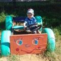 Фотоотчет «Игры детей на свежем воздухе в летний период»