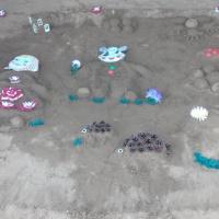 Фотоотчет «Поделка из песка по русской народной сказки «Маша и Медведь» в средней группе.