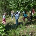 «Путешествие индейцев». Организация целевых прогулок в летнее время с детьми средней группы (фотоотчет)