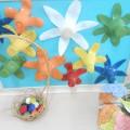 Сенсорное панно «Цветочная поляна»