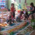 Конспект НОД по художественно-эстетическому развитию во второй группе раннего возраста «Солнце с тучкою»