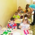 «Снеговик Антоша» конспект занятия по аппликации в средней группе