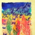 Конкурс детских рисунков «Смотрите все: во всей красе несется Осень на лисе»