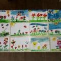 «Мы рады весне!»— наши весенние работы