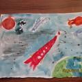 «Путешествие в космос глазами детей»— фотоотчет