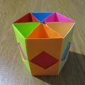 Как сделать подставку для карандашей своими руками из бумаги оригами 21