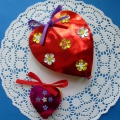 «Сердечко-цветок». Мастер-класс