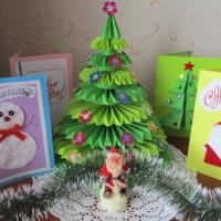 Мастер-класс «Объемная новогодняя открытка»