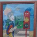 Картина из пластилина «Наш друг-Светофор»
