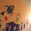 Украшение стен детского сада