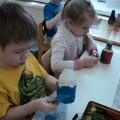 Игрушка из пластиковой бутылки «Дымковская барышня»