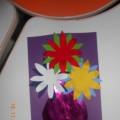 Поделка из цветной бумаги ко Дню Матери
