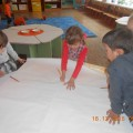 Детский мастер-класс «Елочка из ладошек»