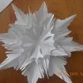 Мастер-класс из бумаги «Пушистая снежинка»