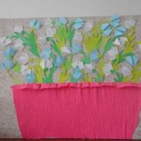 Фотоотчёт о проведении конкурса к празднику 8 Марта «Букет для мамочки!»