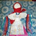 Фотоотчет о проведении мастер-класса по созданию куклы Купавки