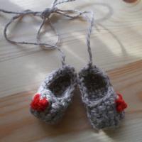 Плетение из джутового шпагата «Лапти, лапоточки»