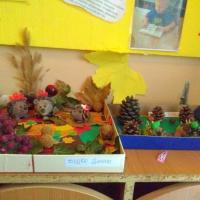 Фотоотчёт о выставке совместных поделок детей и родителей «Дары осени»