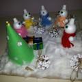 Мастер-класс «Дружные снеговики»